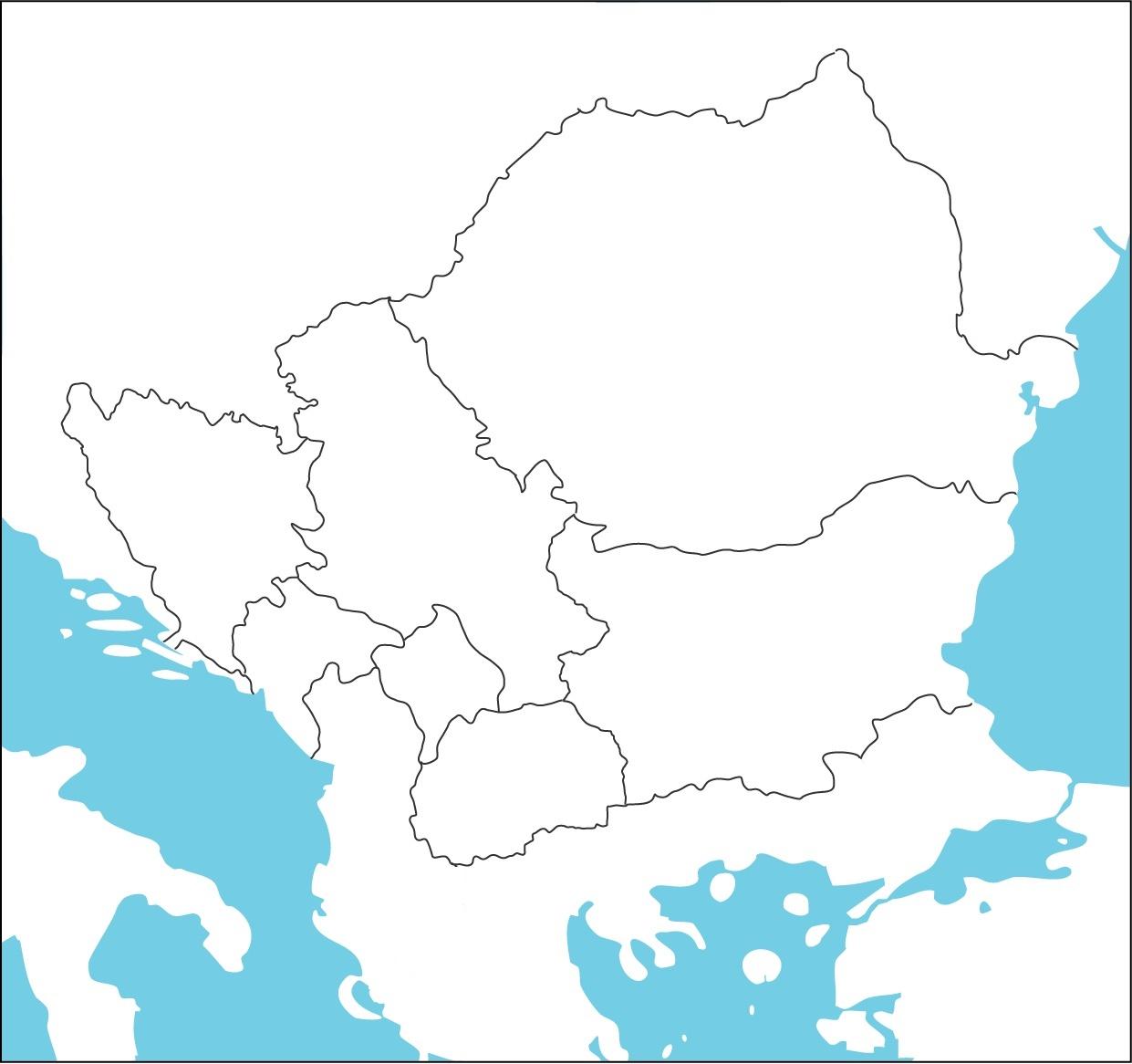 mapa jugoistocne evrope Osnovna škola